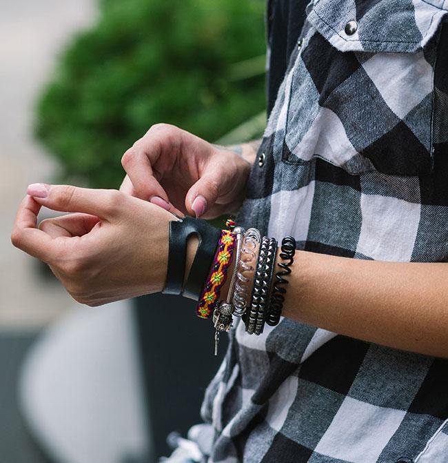 Les bracelets à la mode
