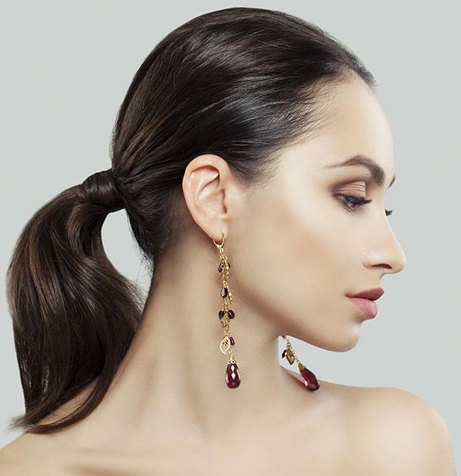 Les modèles de boucles d'oreilles en vogue